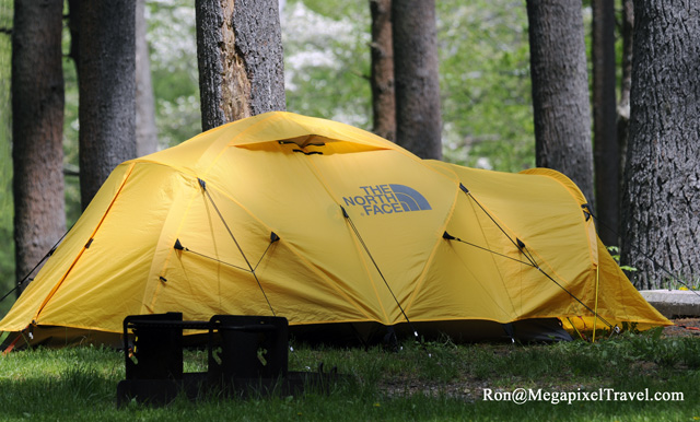 The ... & The North Face Mountain 25 tent review | MegaPixel Travel