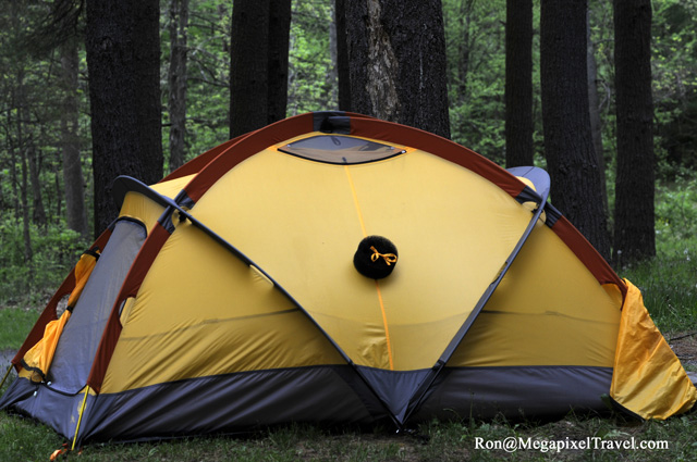 One interesting feature of the tent ... & The North Face Mountain 25 tent review | MegaPixel Travel